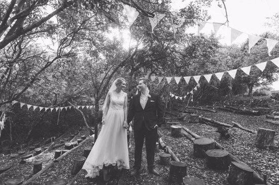 Chintsa, Afrique du Sud : tea in the trees is a wedding venue!