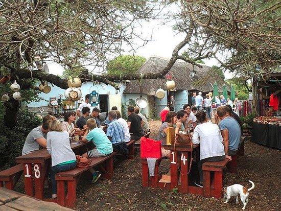 Chintsa, Afrique du Sud : sunday brunch!