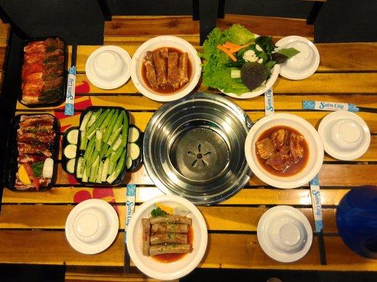 Ba Ria-Vung Tau Province, Vietnam: món ăn