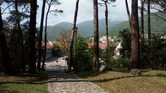 Тиват, Черногория: городской парк