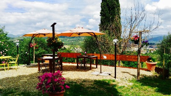 Rignano sull'Arno, Italia: Terrazza