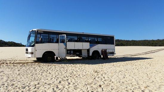 Moreton Island, Australia: Desert Safari with Tanga Tours 16/05/17