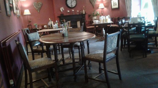 Bedale, UK: The dinner room