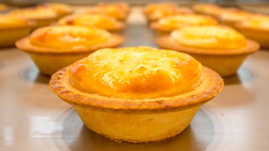 Golden Cheese Tart