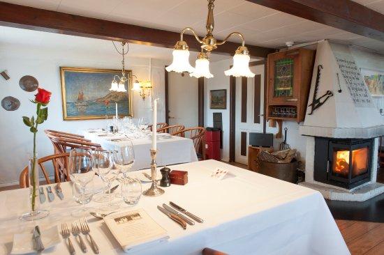 Laesoe Island, Dania: Dining room