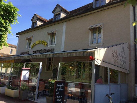 Cormatin, Francia: Terrasse