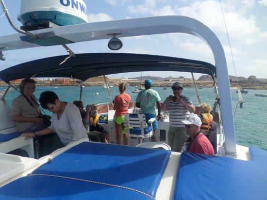 Sal Rei, Cabo Verde: de boot van KaBoKaiTours