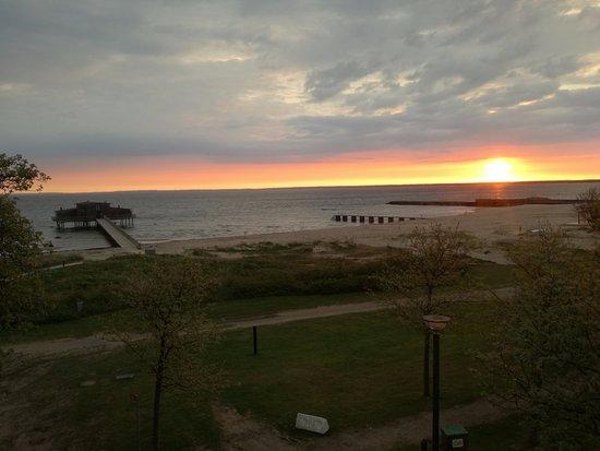 Hotel Skansen: Sunrise