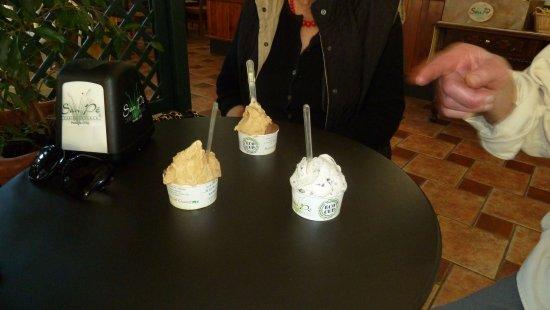 Agrigelateria San Pe' : Squisiti gelati