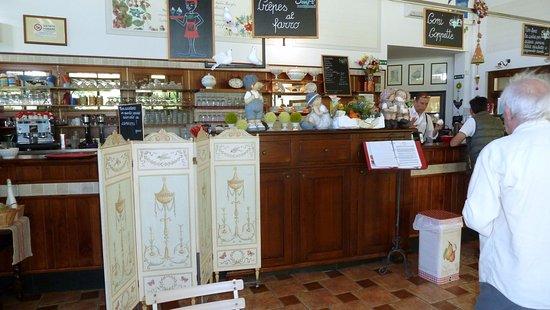 Agrigelateria San Pe' : Banco bar e cassa