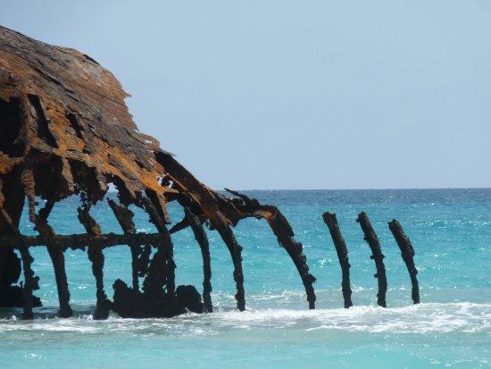 Sal Rei, Cabo Verde: het scheepswrak