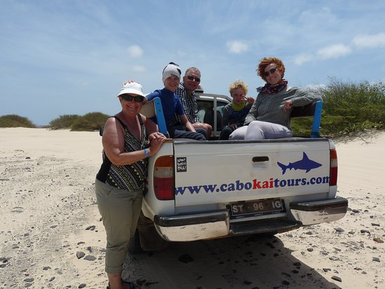Sal Rei, Cabo Verde: de 4 wheel drive