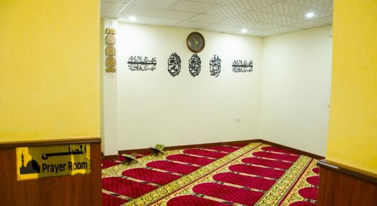 Waiting Hall for Massage - Picture of Hotel Jubail inn, Al Jubail