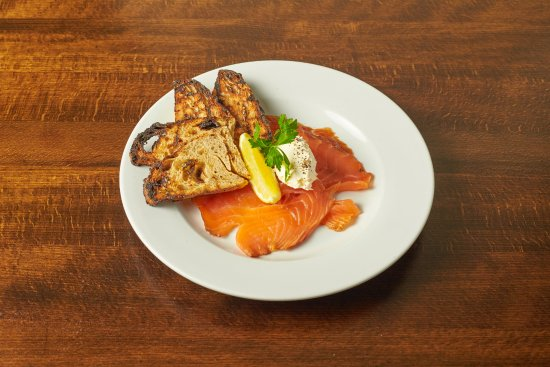 The Cadogan Ingham: Home smoked salmon