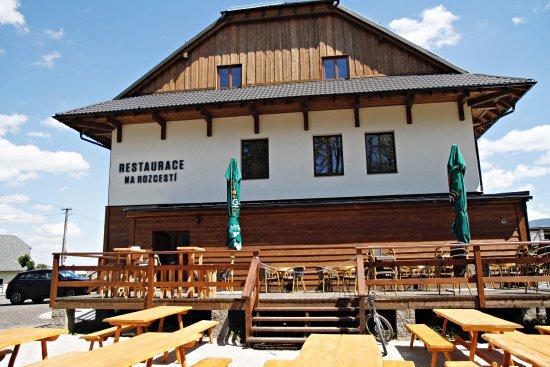 Celadna, Czech Republic: Venkovní terasa