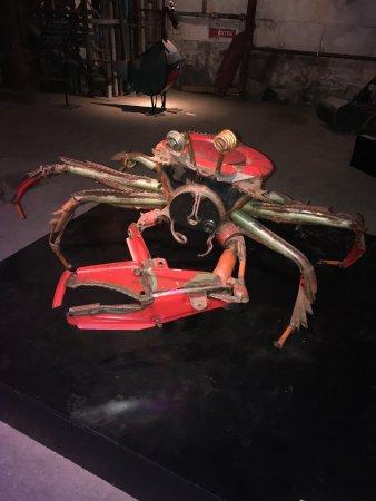 Steampunk HQ: Spider exhibit