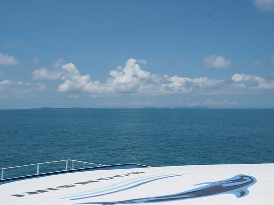 Ko Kut, Thailand: view from ferry
