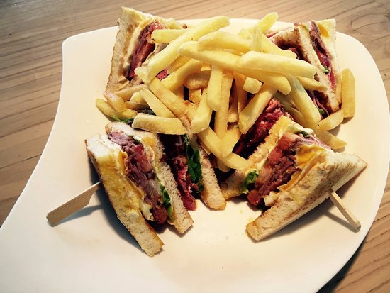Adliswil, Switzerland: Clubsandwich
