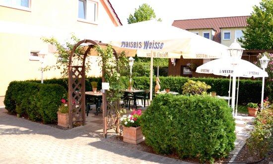 Storkow, Tyskland: Biergarten