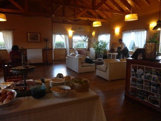 Hosteria Hainen: Réception et salle petit déj