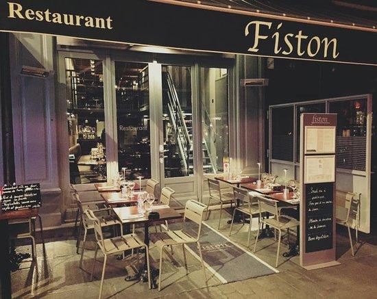 Restaurant fiston dans lyon avec cuisine fran aise for Restaurant cuisine moleculaire lyon