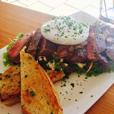 Dannevirke, Nueva Zelanda: Deconstructed steak Sammie