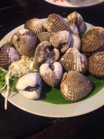 Pak Nam, Tayland: หอยครางลวก เมนูอื่นๆถ่ายไม่ทัน เพราะหิวมาก