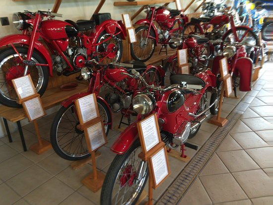 Guadalest, İspanya: Moto Guzzi´s