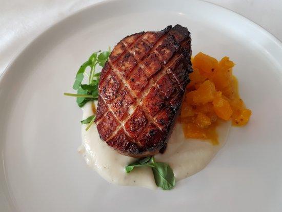 Season's Restaurant: Treacle Glazed Gammon Loin with Pineapple Pickle