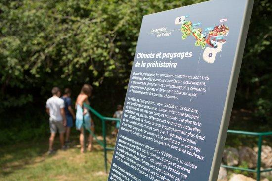 Une balade menant à l'abri préhistorique d'Aurignac