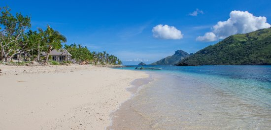 Kuata Island, Fiji: One of Kuata's stunning beaches.