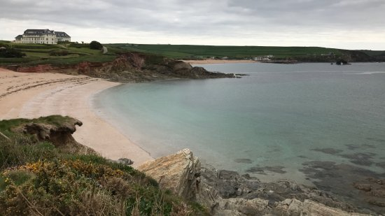 Thurlestone, UK: Coastal walking from the hotel