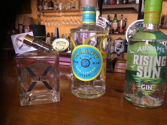 Retford, UK: Gin glorious gin !