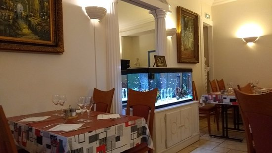 Restaurant Aspendos : Salle intérieure