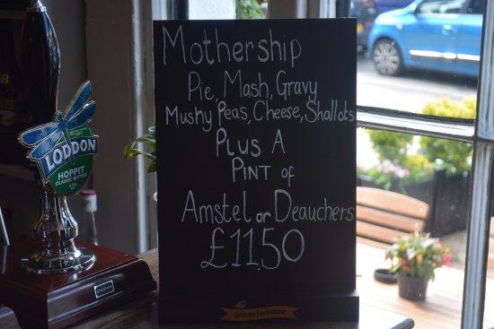 Thame, UK: Mothership Offer