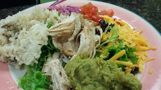 วอปากา, วิสคอนซิน: Chicken Carnita Saled