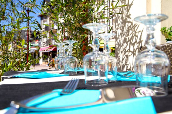 Hotel Restaurant Le Normand : Notre terrasse