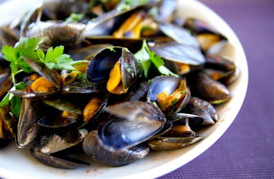 Hotel Restaurant Le Normand : Moules Normande