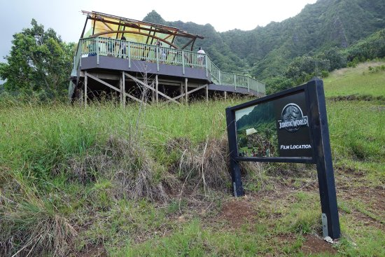 Kaneohe, Hawaï: Jurassic World gyrosphere station