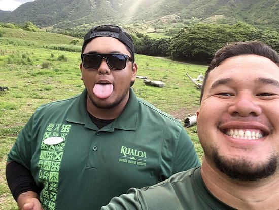 Kaneohe, HI: Our guides.