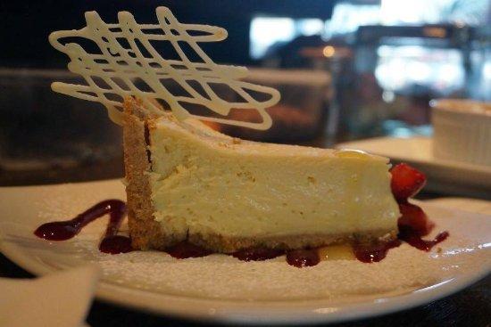 Martinborough, Nova Zelândia: Homemade Lemon Cheesecake