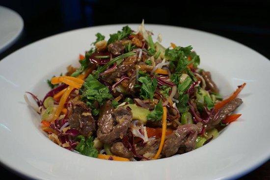 Martinborough, New Zealand: Sauteed beef salad