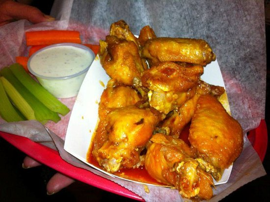 Cabo's Island Grill and Bar: WIngs at Cabos? Hands down, Best in town.