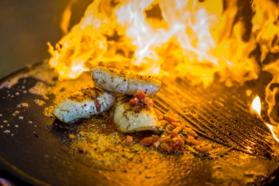 Ibo, Mozambique: Grilled Calamari with Tequila