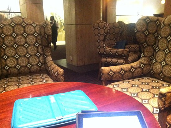 Royal Hotel: The chairs are beautiful but once again cushions would help