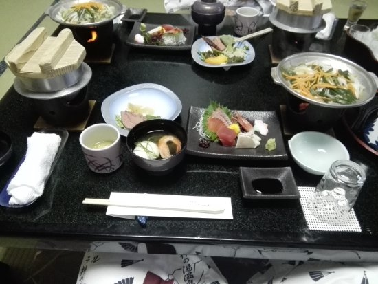 Kai, Japonya: 夕食