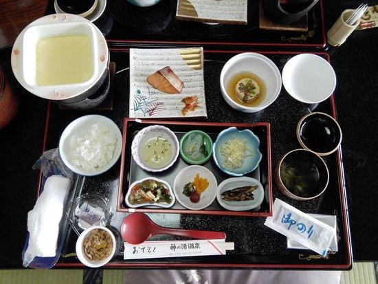 Kai, Japonya: 朝食