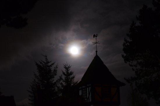 Penicuik, UK: super moon