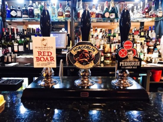 Draycott in the Clay, UK: Red Boar as this weeks Guest Ale