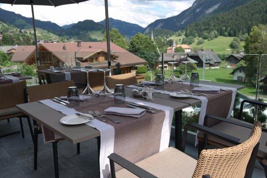 Rougemont, Suiza: Terrasse du Roc